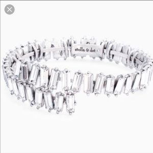 Stella and Dot Luxe Coil Crystal Bracelet